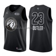 Minnesota Timberwolves Jimmy Butler 23# Black 2018 All Star Game NBA Basketball Drakter..
